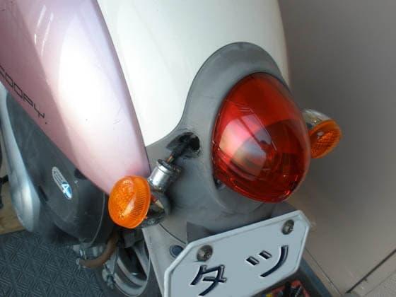 ソロツーリングと気ままな旅 - スクーピー(50cc)リアウインカー ...