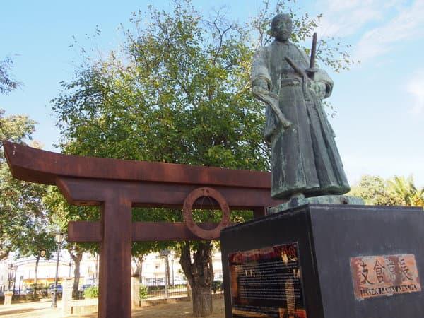支倉常長銅像