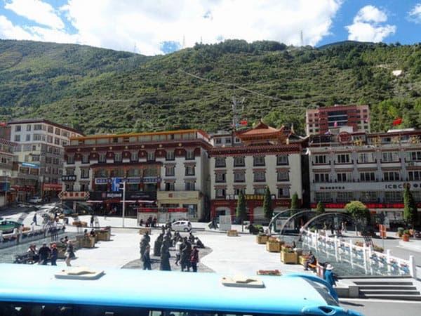 Himalayan Coffeeからの景色