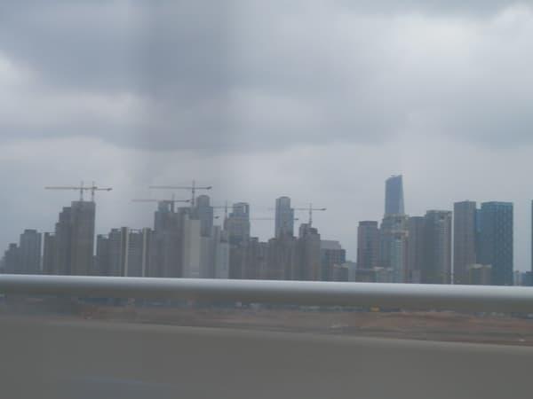 高速道路からの仁川
