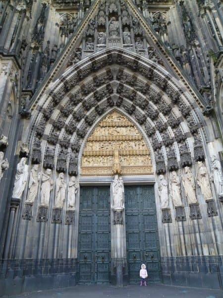 ケルン大聖堂入口