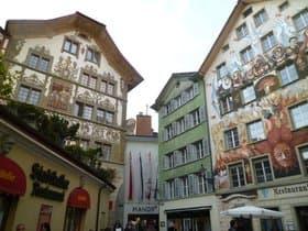 ルツェルンの町並み(スイス)
