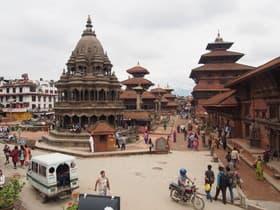 パタン、カトマンズ(ネパール)