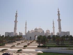 シェイクザイードグランドモスク(UAE)