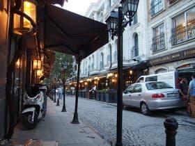 イスタンブールの街並み(トルコ)