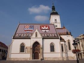 タイルの教会(クロアチア)