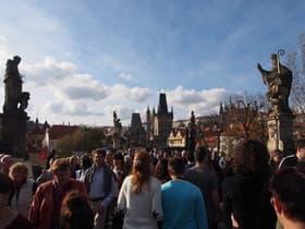 プラハの街並み(チェコ)