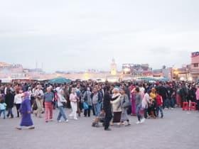 フナ広場(モロッコ)