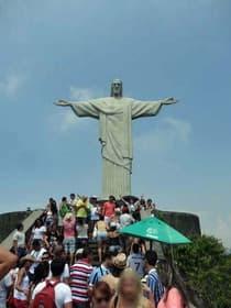 巨大なキリスト像(ブラジル)