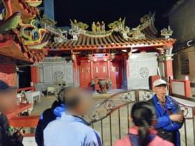 金門島夜のガイドツアー(台湾)