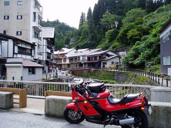 銀山温泉入口