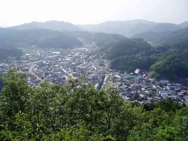 翁山からの眺め
