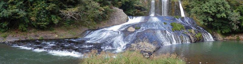 龍門の滝パノラマ