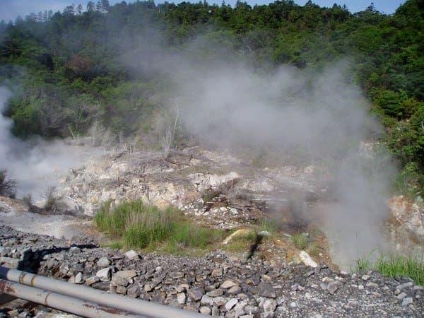 硫黄谷温泉