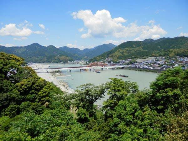 熊野川の景色