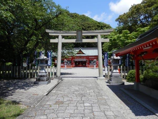 阿須賀神社と鳥居
