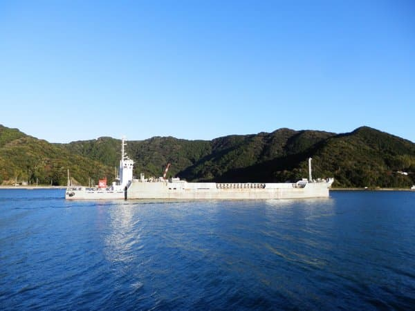 須崎港のタンカー