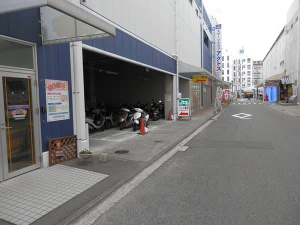 松山駅前駐輪場