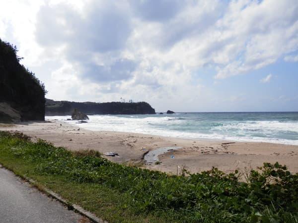 琴ヶ浜海岸南側