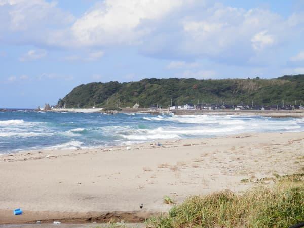 琴ヶ浜海岸北側