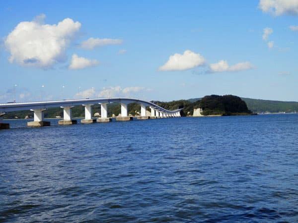 能登島と大橋