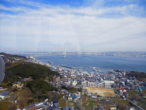 観覧車からの明石大橋