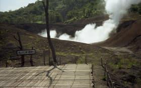 北海道 有珠山西山火口