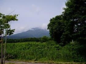 青森県 岩木山
