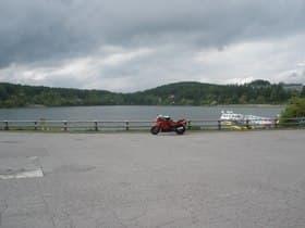 長野県 女神湖