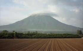 北海道 羊蹄山です