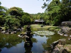鹿児島県 旧島津氏玉里邸庭園