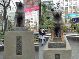 東京都 渋谷「忠犬ハチ公」