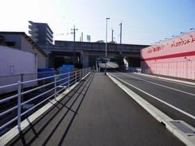 熊本県 熊本市内の錯覚する道路