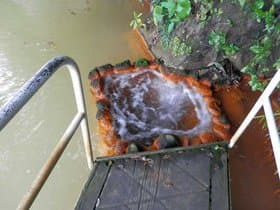 大分県 姫島の拍子水温泉