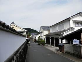 愛媛県 内子町の街並み