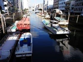 東京都 神田川沿いの船宿