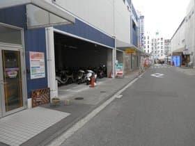 愛媛県 松山駅前駐輪場