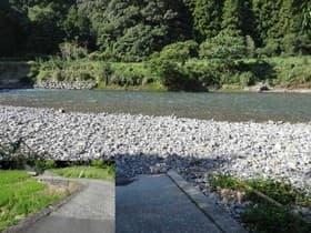 高知県 黒尊川下流川遊び場