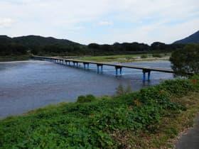 高知県 佐田沈下橋