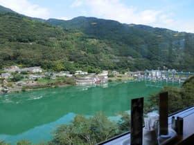 徳島県 川の駅ウエノ