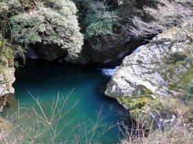 徳島県 天泊りの淵