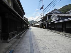 兵庫県 坂越の町並み