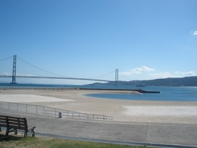 大倉海岸東側景色