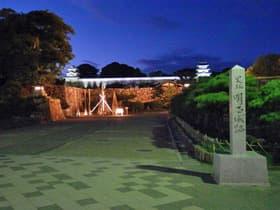 明石公園ライトアップ