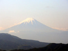 八ヶ岳牧場からの富士山